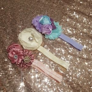 Other - Bundle of baby girl headbands